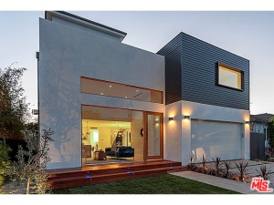 This McMansion in Mar Vista is probably beyond the scale required by the new LA city ordinance designed to reduce overbuilding on lots.