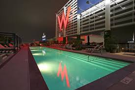 W residence hollywood pool