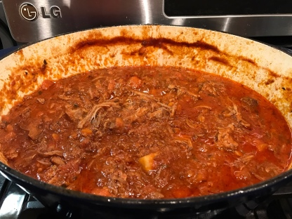 Magically delicious pork ragu